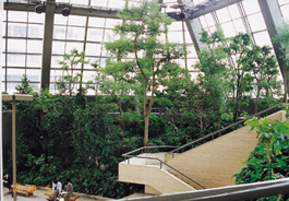 緑の空間がある大同生命ビル 1~2階