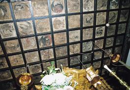 紫雲寺本堂の天井画
