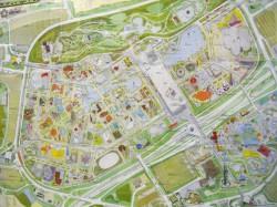 日本万国記念博覧会公式ガイドマップ